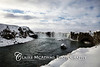 Iceland: Goðafoss in the snow  © Claire McAdams Photography 2010